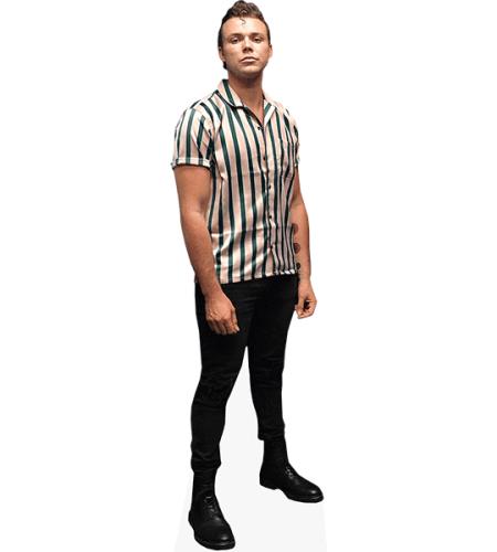 Ashton Irwin (Striped Shirt)