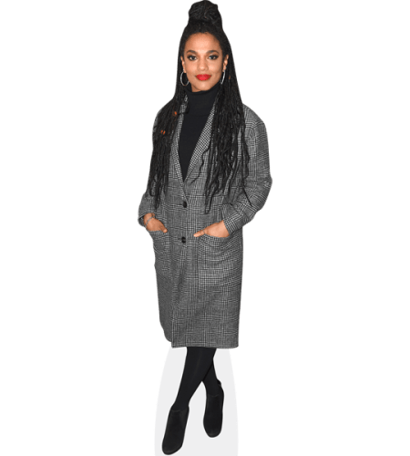 Freema Agyeman (Grey Coat)