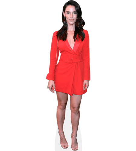 Jessica Lowndes (Red Dress)