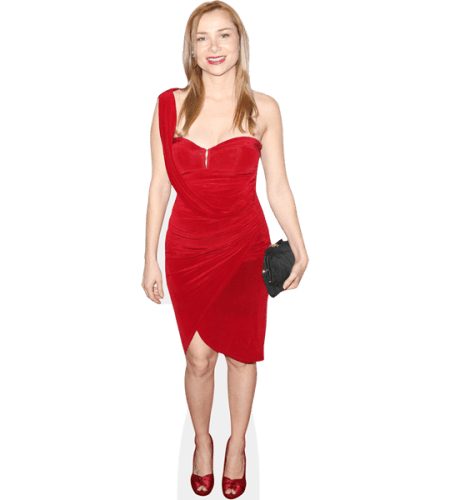 Mika Boorem (Red Dress)