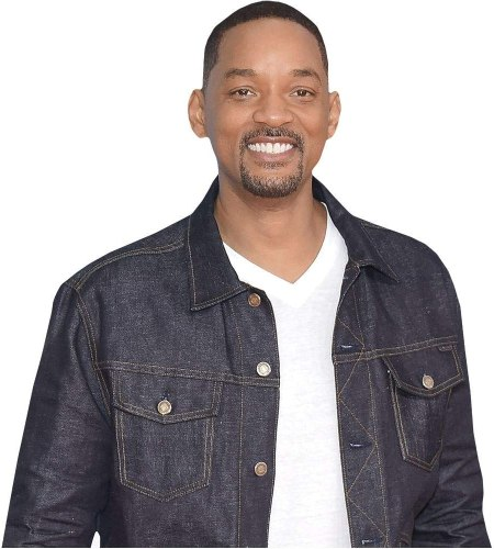 Will Smith (Casual) Cardboard Buddy Cutout
