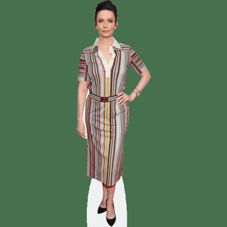 Elizabeth Tulloch (Striped Dress)