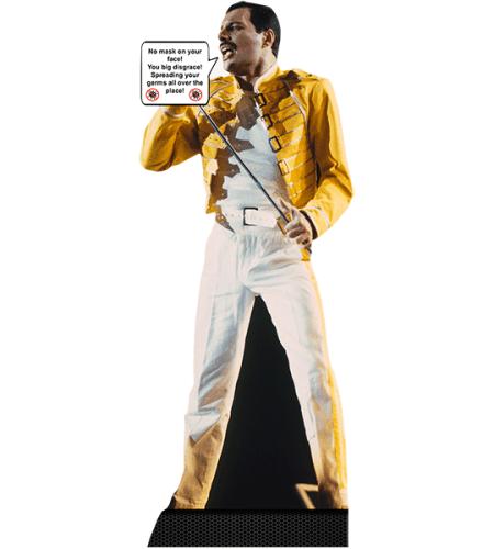 Freddie Mercury (Social Distance)