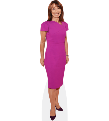 Kay Burley (Purple Dress)