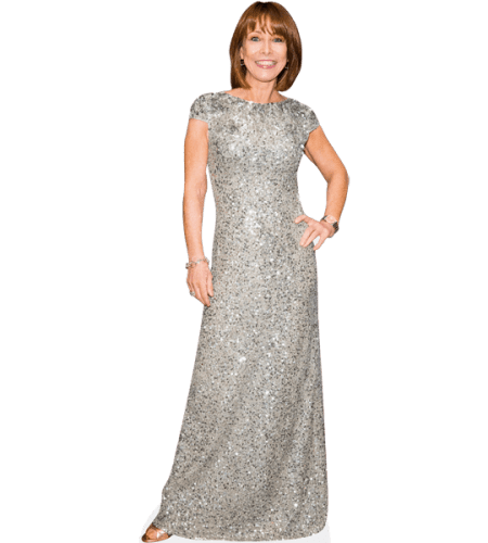 Kay Burley (Silver Dress)