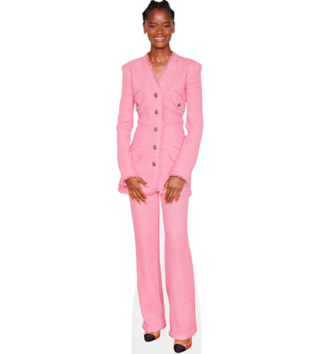 Letitia Wright (Pink Outfit)