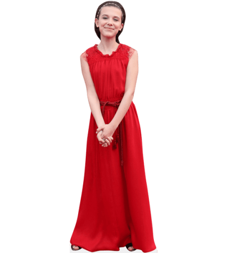 Millie Bobby Brown (Red Dress)