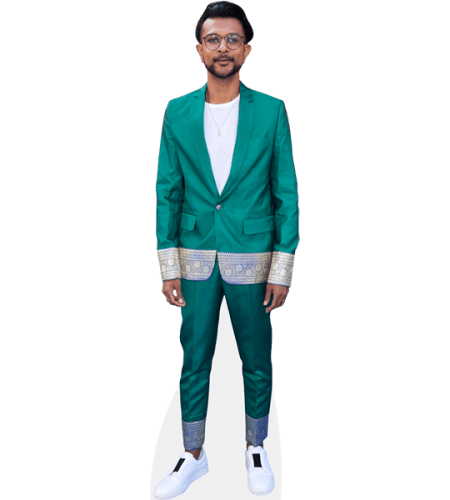 Utkarsh Ambudkar (Green Suit)