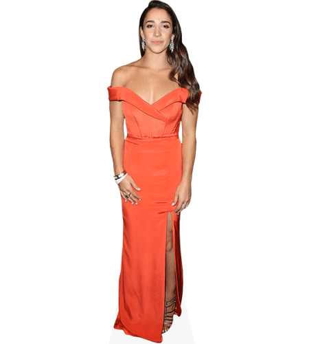 Aly Raisman (Orange Dress)