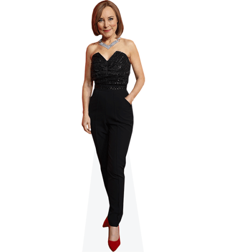 Sian Williams (Black Outfit)