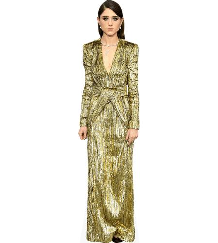 Natalia Dyer (Gold Dress)