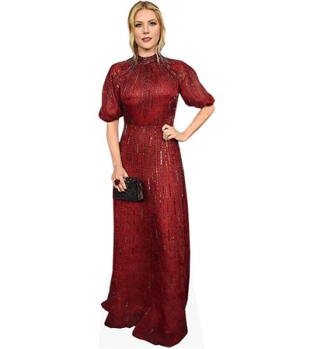 Katheryn Winnick (Red Dress)