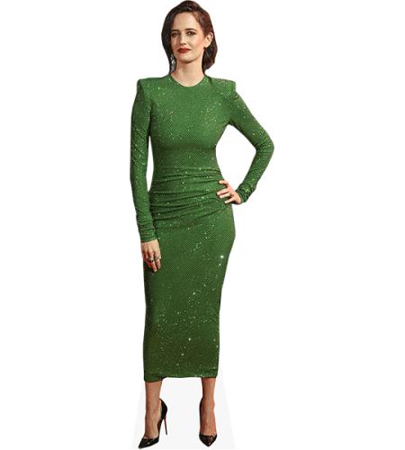 Eva Green (Green Dress)