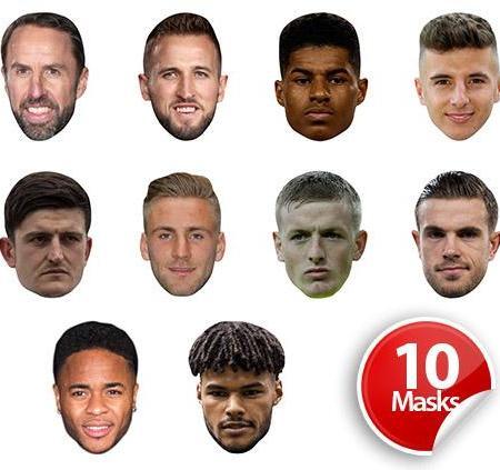 England Football Mask Pack