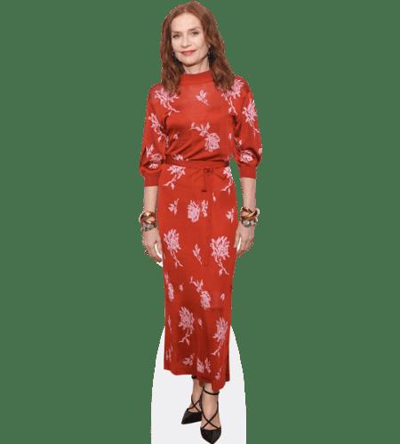 Isabelle Huppert (Red Dress)