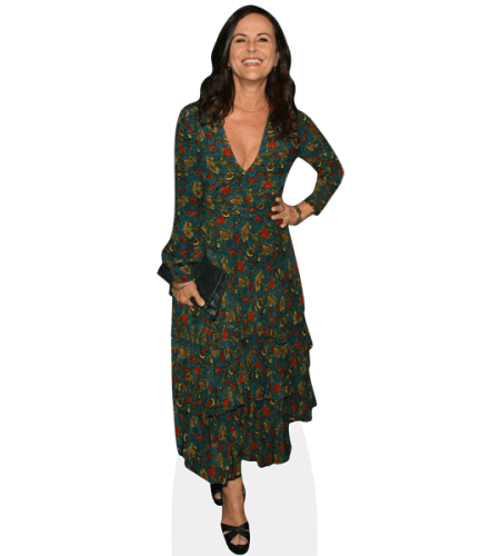Gia Carides (Green Dress)