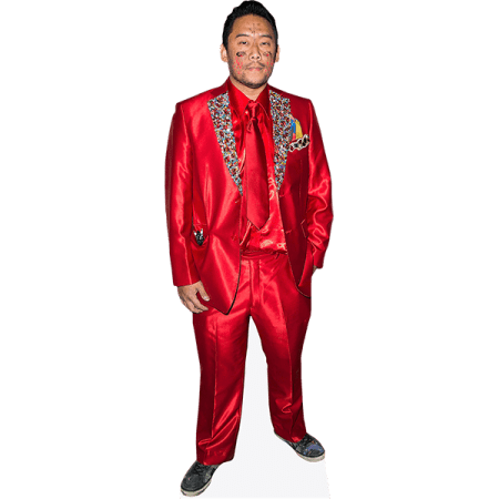 David Choe (Red Suit)