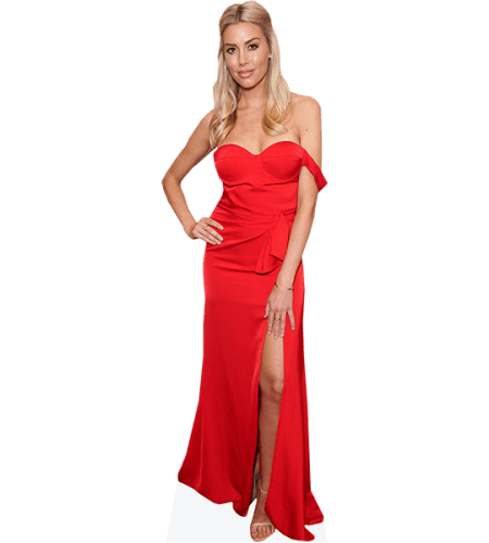 Heather Rae Young (Red Dress)