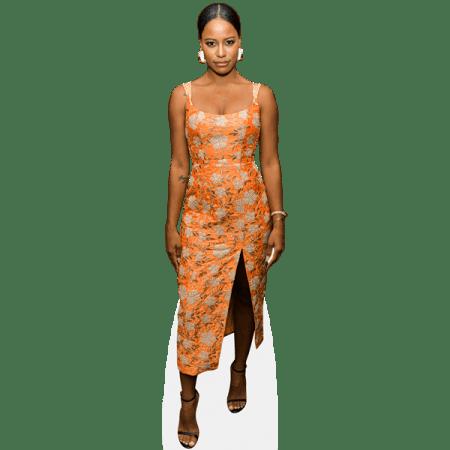 Taylour Paige (Orange Dress)