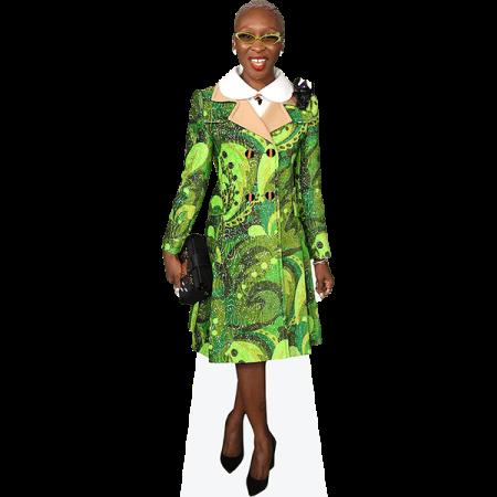 Cynthia Erivo (Green Jacket)