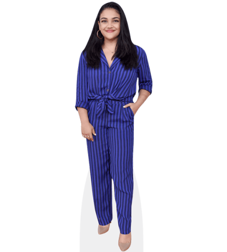 Laurie Hernandez (Blue Outfit)