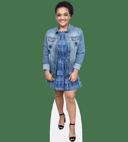Laurie Hernandez (Denim Jacket)