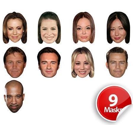 Drama Series 6 Mask Pack