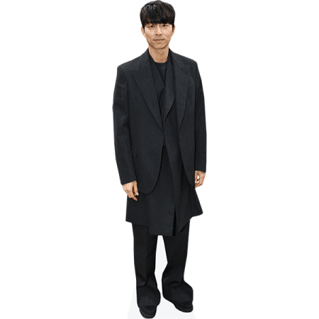 Gong Yoo (Black Outfit)