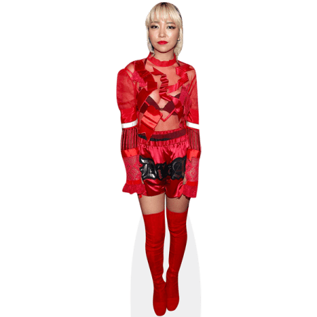Jinjoo Lee (Red Outfit)