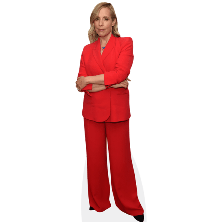 Mel Giedroyc (Red Suit)