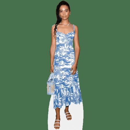 Nesta Cooper (Blue Dress)
