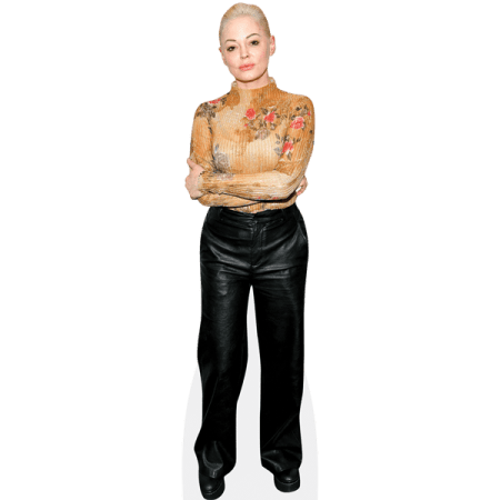 Rose McGowan (Leather Trousers)