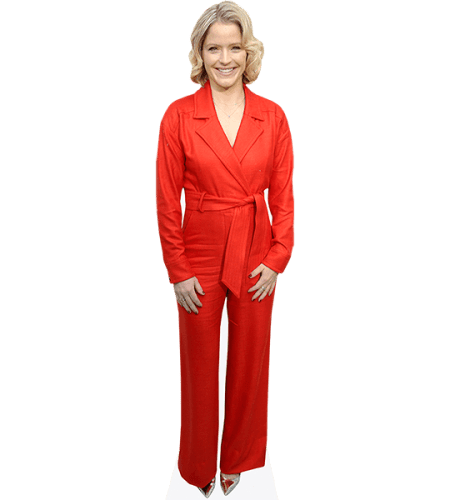 Sara Haines (Red Outfit)