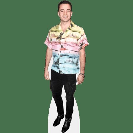 Stephen Puth (Colourful Shirt)