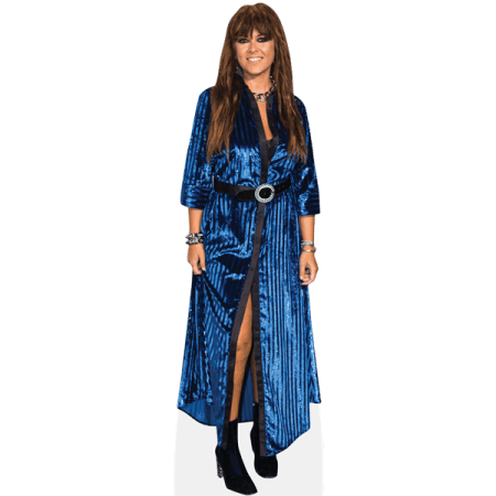 Vanesa Martin (Blue Dress)