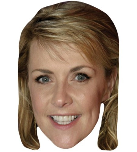 A Cardboard Celebrity Mask of Amanda Tapping