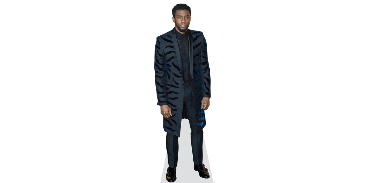 Stand Up Boseman Black Panther Official Marvel Mini Cardboard Cutout Standee