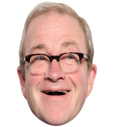 A Cardboard Celebrity Mask of Harry Enfield