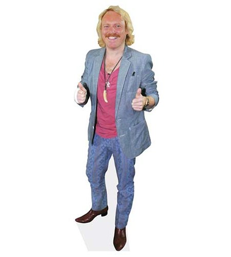 A Lifesize Cardboard Cutout of Keith Lemon showing thumbs up