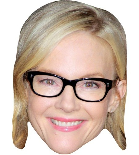 ACardboard Celebrity Mask of Rachael Harris