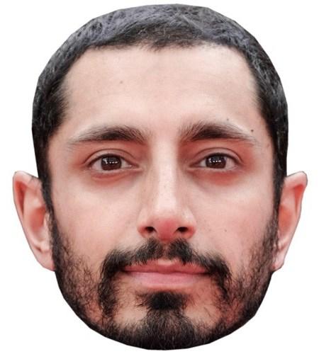 A Cardboard Celebrity Mask of Riz Ahmed