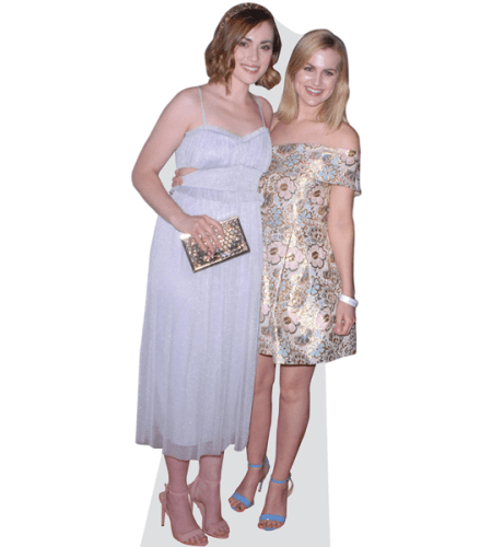 Rose and Rosie Cardboard Cutout