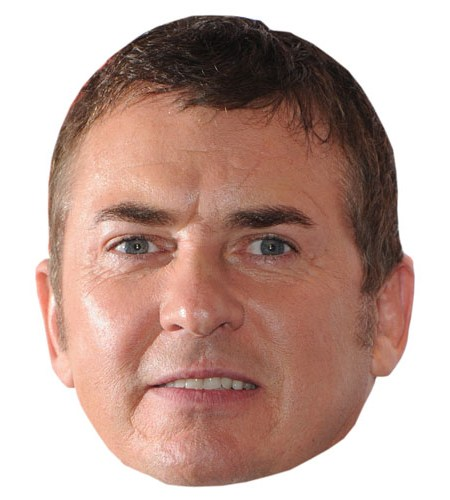Cardboard Cutout Celebrity Shane Richie Mask