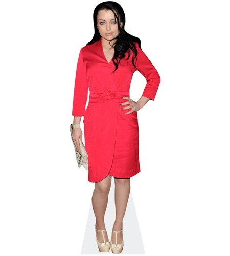 Shona McGarty (Red Dress)