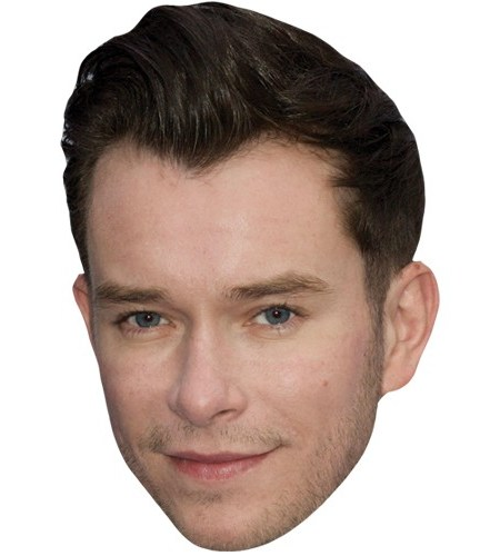 A Cardboard Celebrity Mask of Stephen Gately