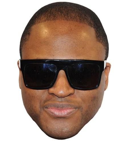 A Cardboard Celebrity Taio Cruz Mask