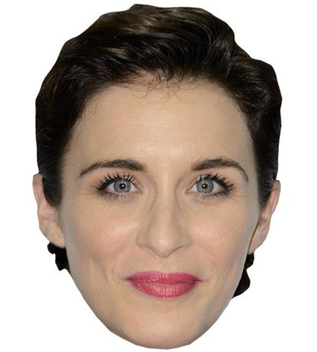 A Cardboard Celebrity Mask of Vicky McClure