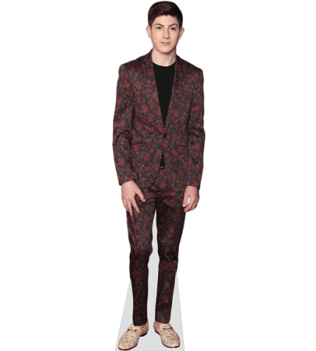 Alex Lawther (Floral Suit)