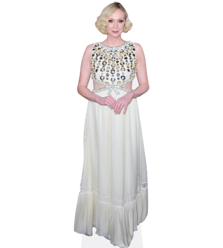 Gwendoline Christie (White Dress)