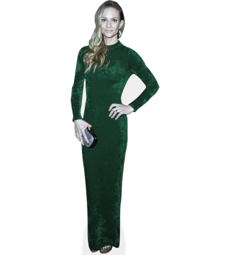 A. J. Cook (Green Dress)